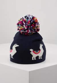 GAP - LLAMA HAT - Beanie - navy uniform