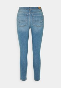 American Eagle - SUPER HIGH RISE - Jeans Skinny Fit - authentic light - 1