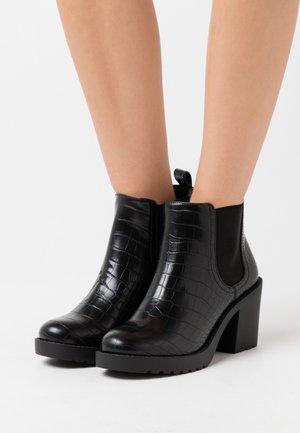 VEGAN MINO - Korte laarzen - black