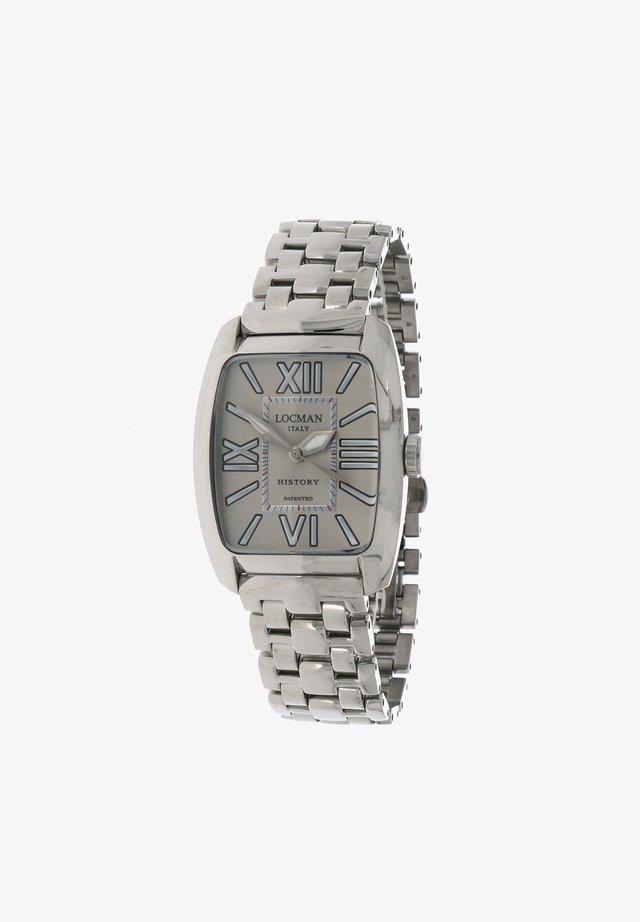 ITALY  HISTORY  - Horloge - silber