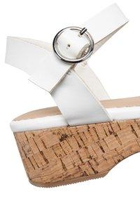 Next - WEDGE - Sandals - white - 3