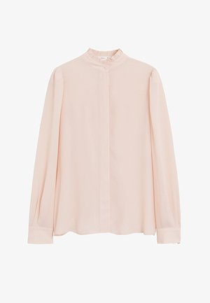 NARA - Button-down blouse - nude