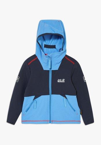 TURBULENCE BOYS - Soft shell jacket - night blue