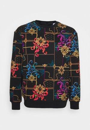ALLOVER PRINT BIG - Sweatshirt - black