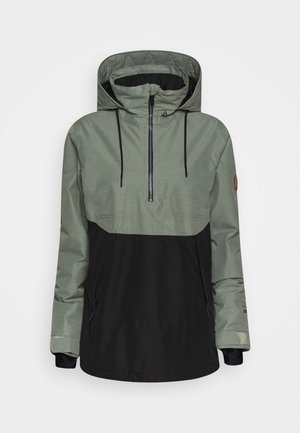 FERN INS GORE - Snowboardjacke - dusty green