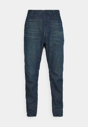 GRIP 3D RELAXED TAPERED - Relaxed fit -farkut - katon denim o - worn in atoll blue
