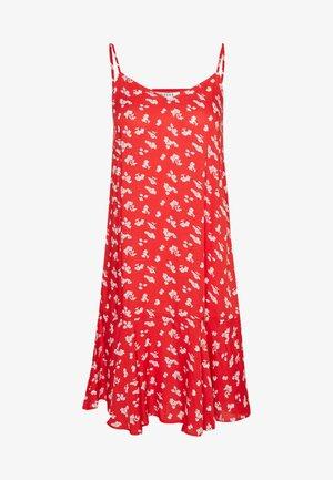 PCNYA SLIP DRESS - Kjole - goji berry