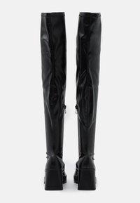 RAID Wide Fit - JOYEN - Kozačky na vysokém podpatku - black - 3