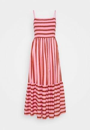 CALAIS - Maxi šaty - rosy carnation