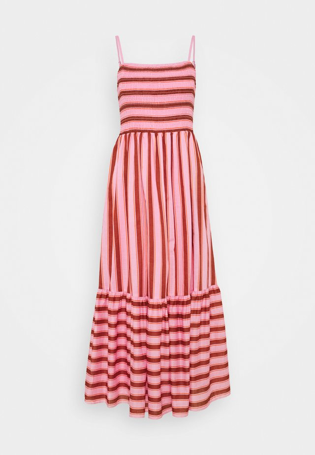 CALAIS - Maxi dress - rosy carnation
