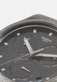 Swatch - IRONY GOLDSHINY - Chronograph watch - black - 3