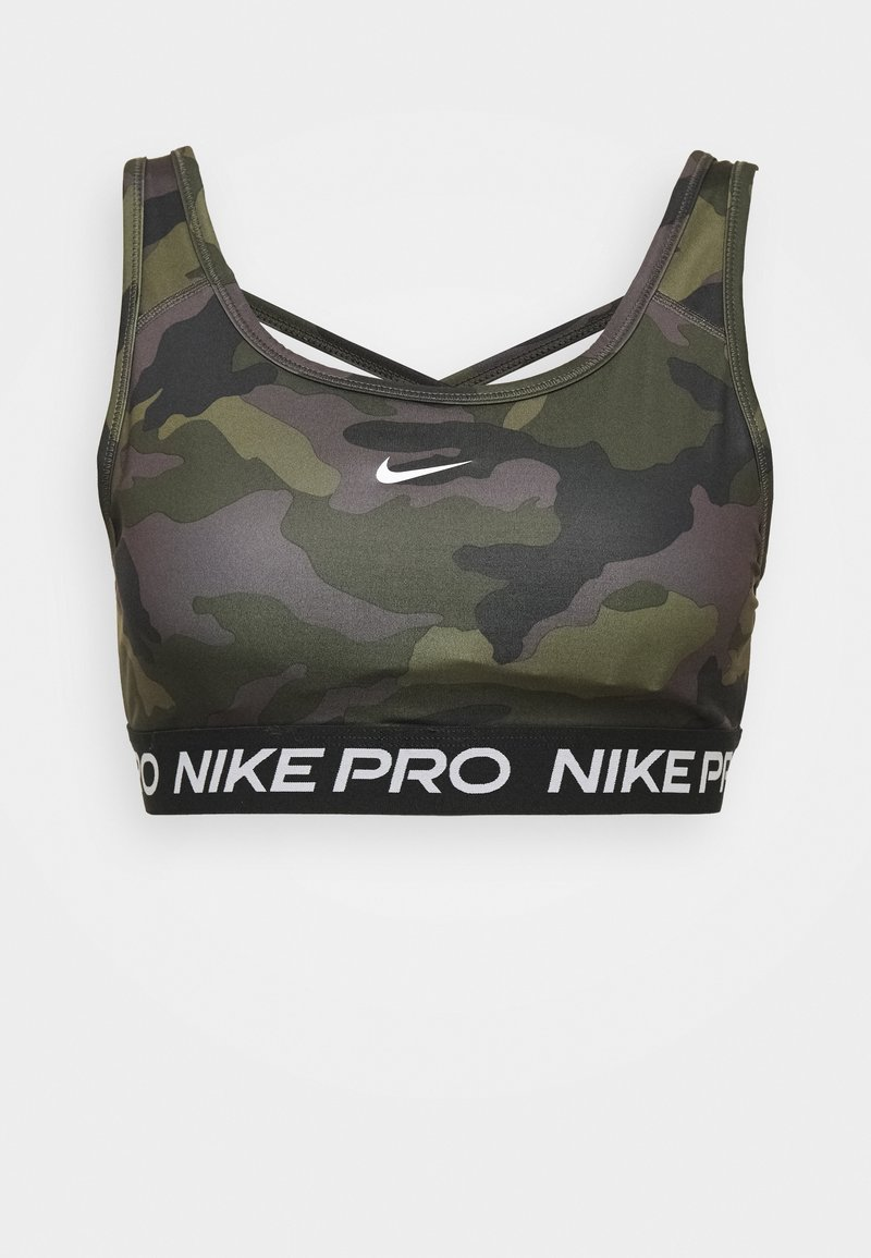 Nike Performance - BRA CAMO - Sport BH - black/white