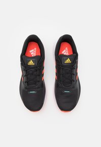 adidas Performance - RUNFALCON 2.0 - Zapatillas de running neutras - core black/solar red/solar gold - 3
