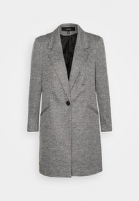 Vero Moda - VMCHECK 3/4 LONG - Krátký kabát - dark grey melange - 5