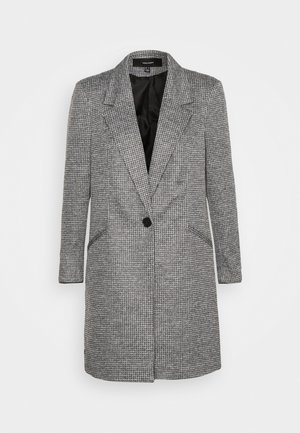 VMCHECK 3/4 LONG - Short coat - dark grey melange