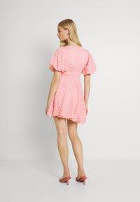 Lace & Beads - EMMA MINI - Denní šaty - pink - 2