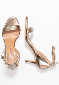 Pura Lopez - Sandals - gold - 3