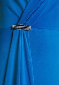 Lauren Ralph Lauren - RYDER CAP SLEEVE EVENING DRESS - Vestido de fiesta - deep bondi blue - 5