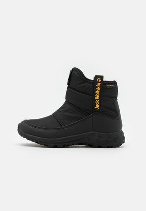 WOODLAND TEXAPORE WT MID UNISEX - Zapatillas de senderismo - black/burly yellow