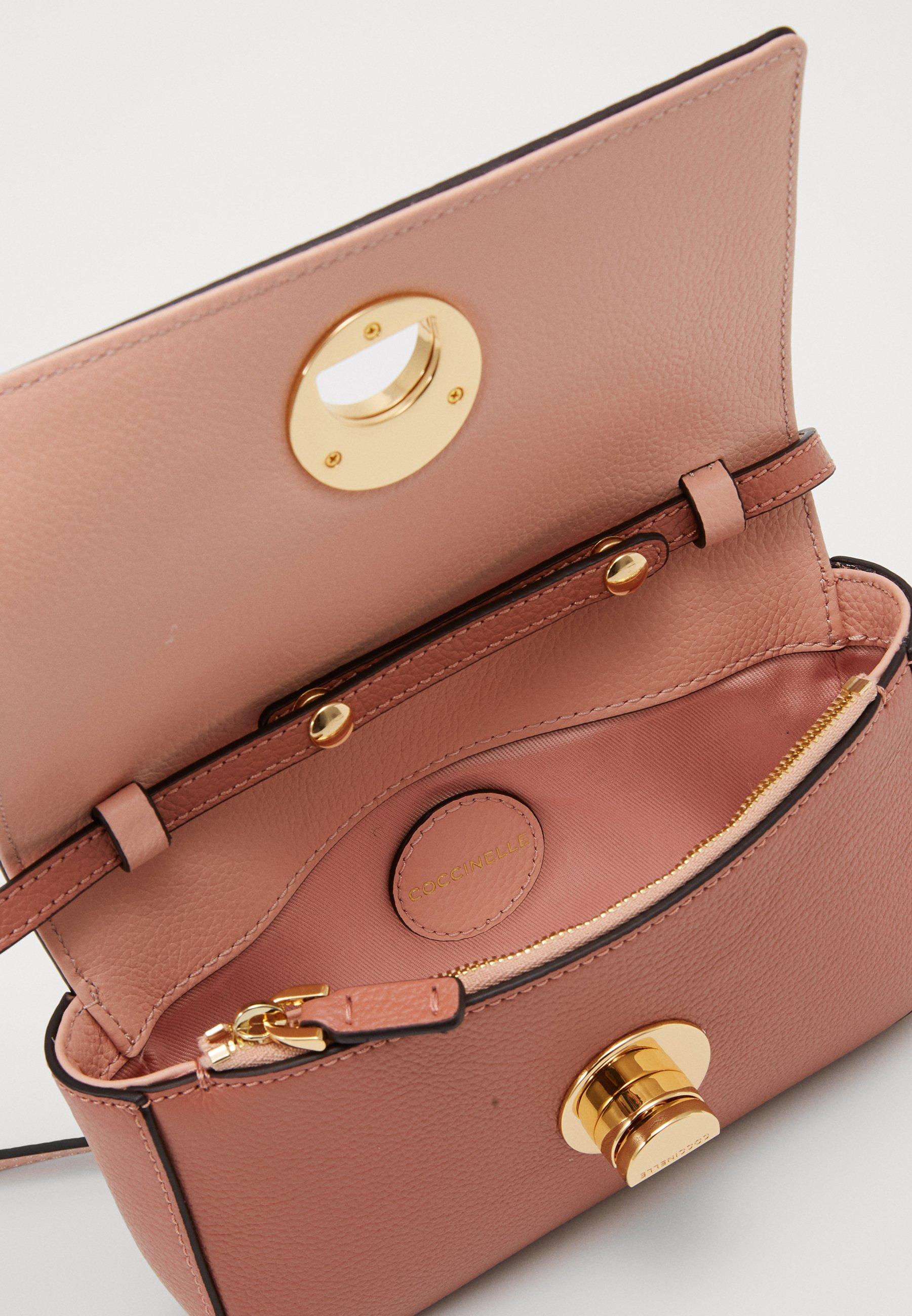 Coccinelle Mini Bag Liya - Umhängetasche Litchi/rose/rosa