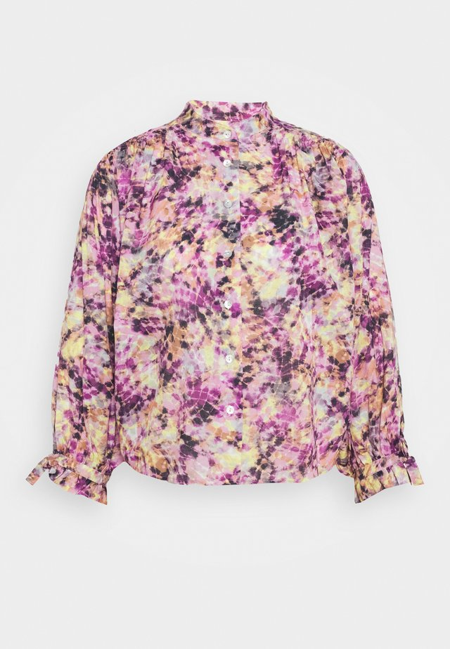 Bluse - purple multi