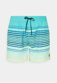 Billabong - SPRAYED STRIPES - Swimming shorts - spearmint - 0