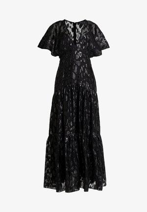 ESTER FLUTTER SLEEVE DRESS - Ballkjole - black