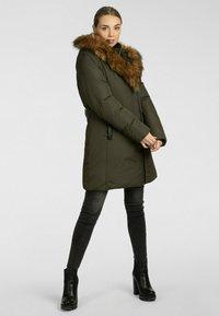 Apart - Winter coat - khaki - 1