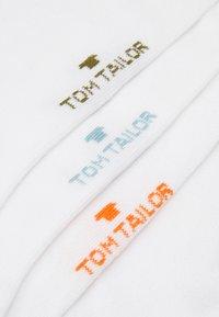TOM TAILOR - SHORTSNEAKER HIDDEN COLOR  6  PACK - Chaussettes - white - 2
