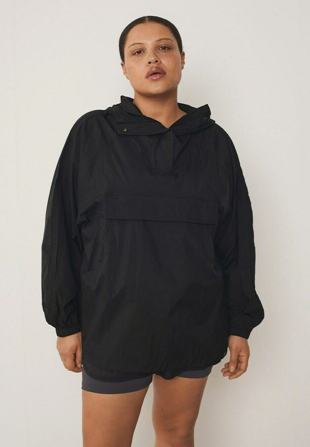 KANGU - Windbreaker - black