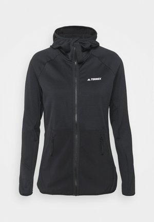 MARATHON DNA PRIMEBLUE RUNNING JACKET - Fleece jacket - black