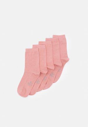 ONLINE WOMEN ORIGINAL SOCKS  5 PACK - Socks - rose tan