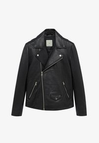 Mango - PERFECT - Leather jacket - schwarz - 6