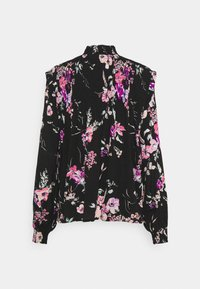 b.young - BYILKA BLOUSE - Long sleeved top - black mix - 1