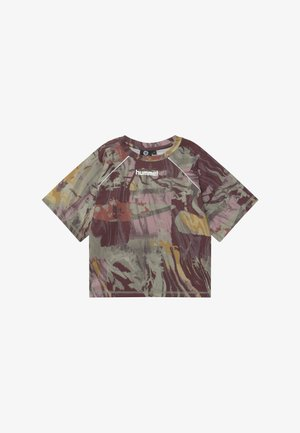 PLENA  - Print T-shirt - vetiver