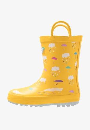RAIN - Stivali di gomma - yellow