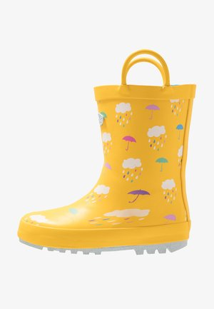 RAIN - Kumisaappaat - yellow