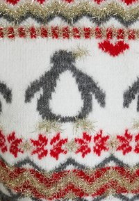 Dorothy Perkins - FAIRISLE TINSEL PENGUIN - Maglione - red - 5
