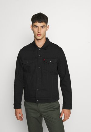 THE TRUCKER JACKET - Džínová bunda - blacks