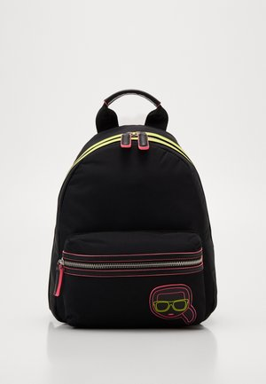 IKONIK NEON BACKPACK - Tagesrucksack - black