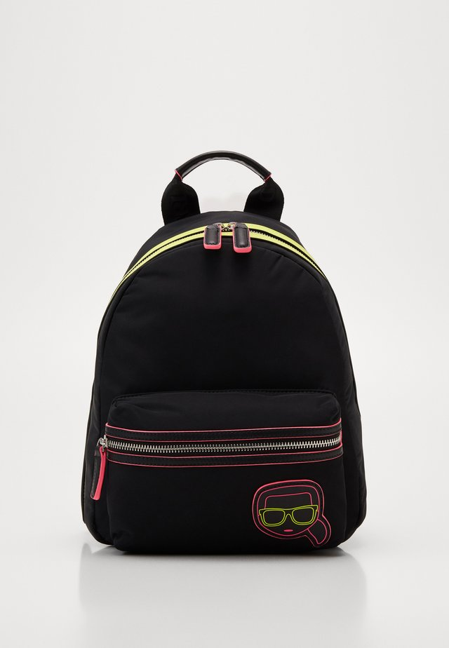 IKONIK NEON BACKPACK - Plecak - black