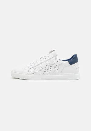 NIZZA - Baskets basses - white/navy