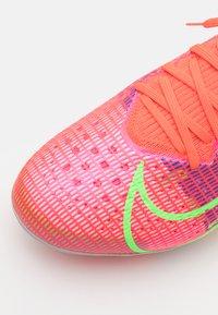 Nike Performance - MERCURIAL VAPOR 14 PRO AG - Moulded stud football boots - bright crimson/metallic silver - 5