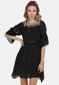 IZIA - IZIA KLEID - Day dress - schwarz - 0