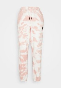 Missguided - PLAYBOY TIE DYE OVERSIZED JOGGER - Trainingsbroek - stone
