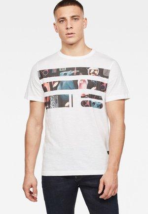 ORIGINALS PHOTO GR - T-shirt print - white