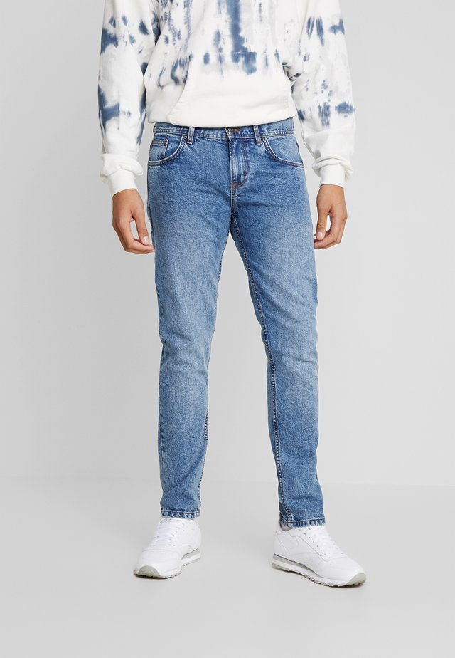 HARBOR - Jeans slim fit - blue denim