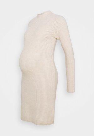 MLFERDI DRESS - Vestido de punto - ecru