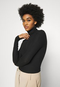 Weekday - CAROL TURTLENECK - T-shirt à manches longues - black - 3