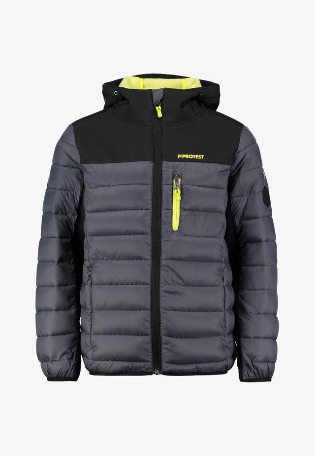 GONZO JR - Soft shell jacket - grau